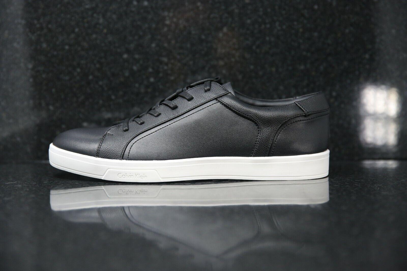 Calvin Klein Barwan Lace Up Men Shoes Black Size UK 11 EUR 45