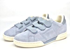 611cfe3a5ad Mens Reebok Classics NPC Straps Grey Blue Sneakers Adjustable Straps ...