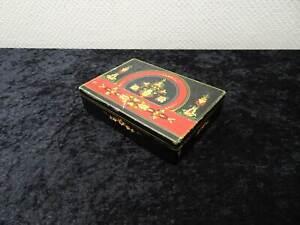 Antique-Casket-Wood-Jewellery-Box-Vintage-Handmade