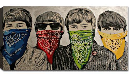 Quadro Moderno Stampa su Tela cm 100x50 120x60 XXL Quadri Moderni Arredo Banksy