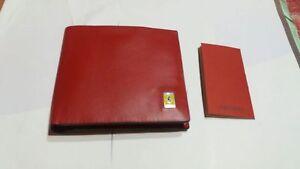 Portefeuille Ferrari Rouge