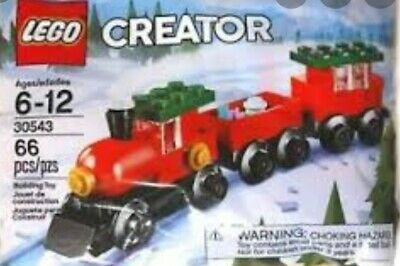 30543 Christmas Train RARE /& 30573 Santa  NEW Holidays Lego LEGO CREATOR