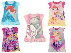 Filles-Nuisette-Robe-MLP-Scooby-Doo-Princesses-Frozen-Tatty-Ted-Paw-Patrol-Barbie