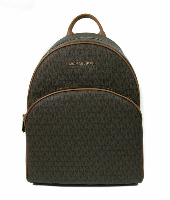 Michael Kors Abbey Large Backpack - Brown