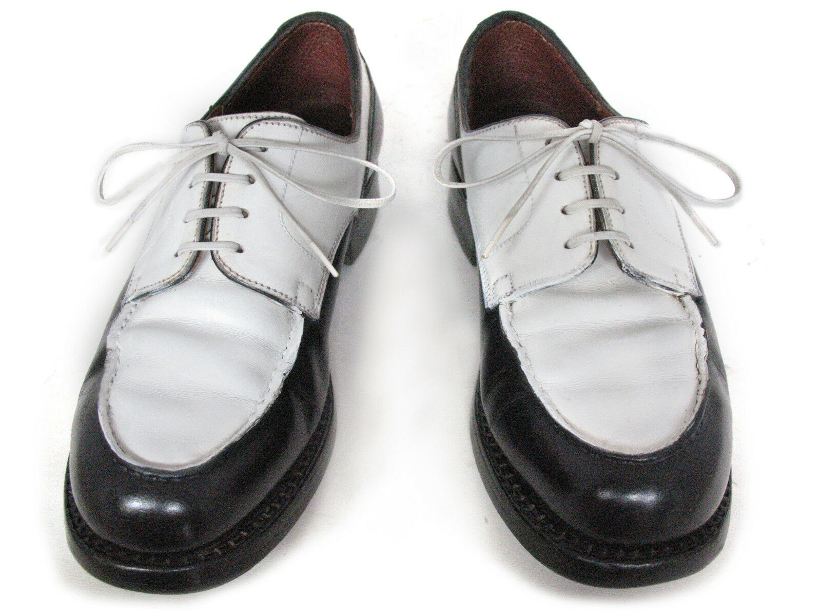 CHAUSSURES J.M. WESTON GOLF BICOLORE - (T.  TAILLE 2,5 D (T. - 35,5) - BEG - 6b0364