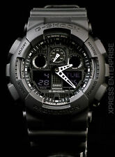 NEW WITH TAGS Casio Gshock X-Large Ana-Digi GA100-1A1 BLACK Watch