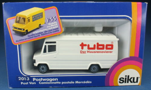 Mercedes 809 Transporter NEU in OVP SIKU 2013 tubo WERBEMODELL 12 Pakete