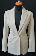 CAREN PFLEGER Blazer JACKE Jacket Kurzgr. 18 = 36 Stretch Logo 169,- EDEL D-1420