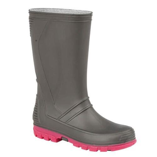 Girls Wellingtons Kids Winter Wellies Rain Mucker Snow Waterproof Boots Shoes