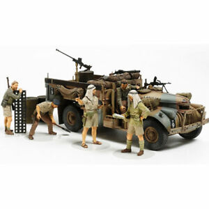TAMIYA-LRDG-with-7-figures-32407-1-35-Military-Model-Kit