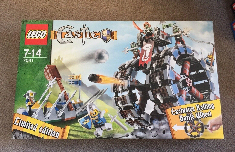 Begränsad ny in låda Lego 7011 Troll slåss hjul fantasi Orc Castle Knight