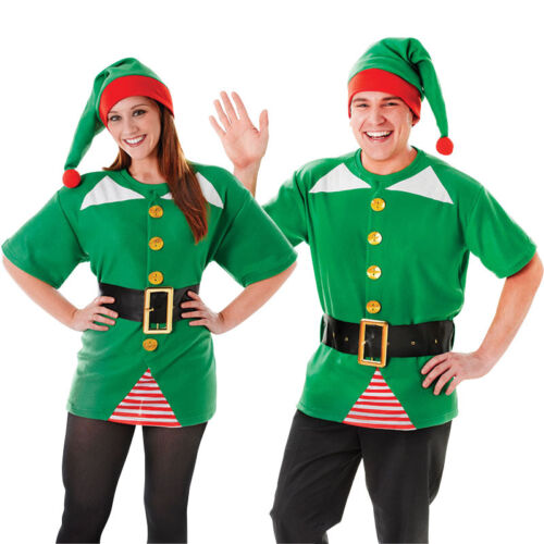 Jolly Elf Kit Unisex Costume Natale Adulto
