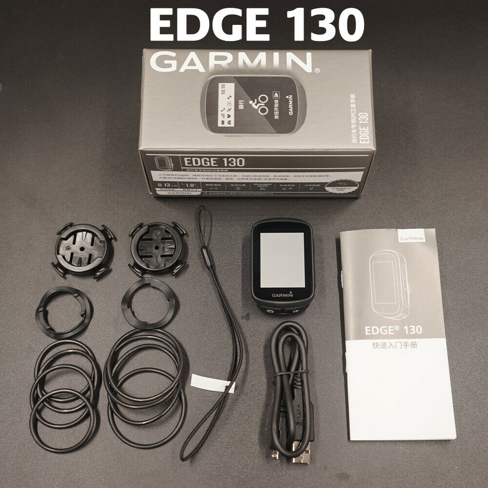 Garmin Edge 130 GPS-Enabled Bike bicycle computer speedometer Extend Mount NEW