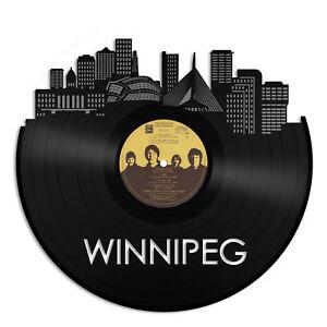 Winnipeg Vinyl Wall Art City Skyline Unique Gift Home Decor