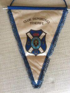 GAGLIARDETTO-CALCIO-CLUB-DEPORTIVO-TENERIFE-C-T-D-SPAGNA-LIGA-ANNI-039-80