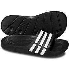 a5d55d1221d8ea Adidas Kids Duramo Sliders Girls Slides Boys Pool Flip Slip on Slide Pink  Black