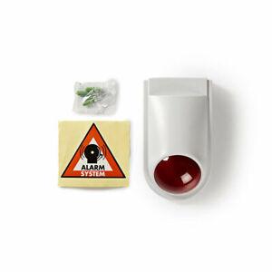 Details about Dummy Security Burglar Fake Alarm Siren Box Indoor Outdoor  IP44 + Sticker
