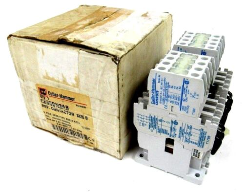 NEW CUTLER HAMMER CE55BN3AB CONTACTOR SIZE B 3 POLE