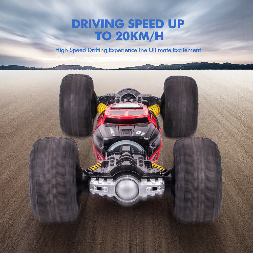 1:16 Scale Double-sided 2.4GHz RC Car One Key Transform All-terrain Off-Road