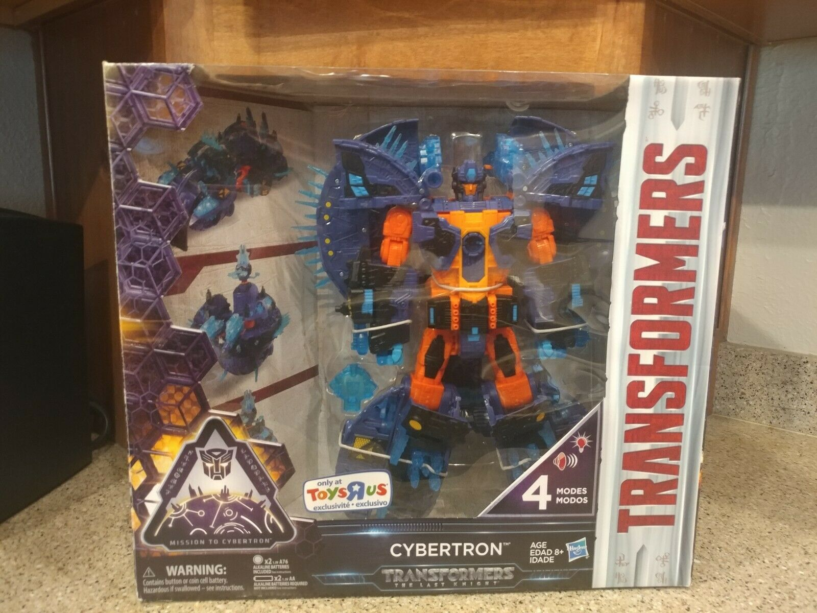 Transformers  THE LAST KNIGHT Cybertron Planet (PRIMUS) TOYS  R US exclusive