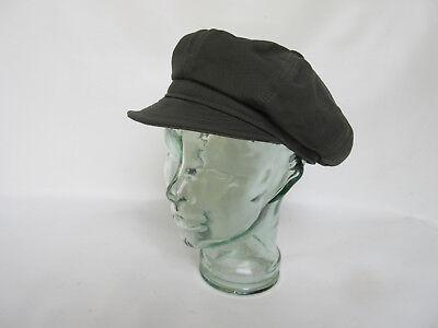 Soleggiato Tela Spitfire Cappello Us Army Nose Art Vintage Mmarines Wwii Rockabilly Baker