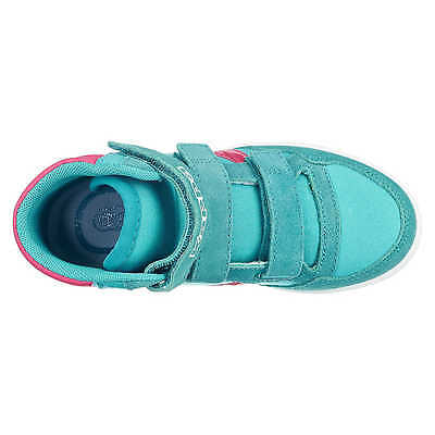 KAPPA Seoul Mid Sun Kinder Sneaker Freizeitschuhe, türkis Gr. 35, Neu