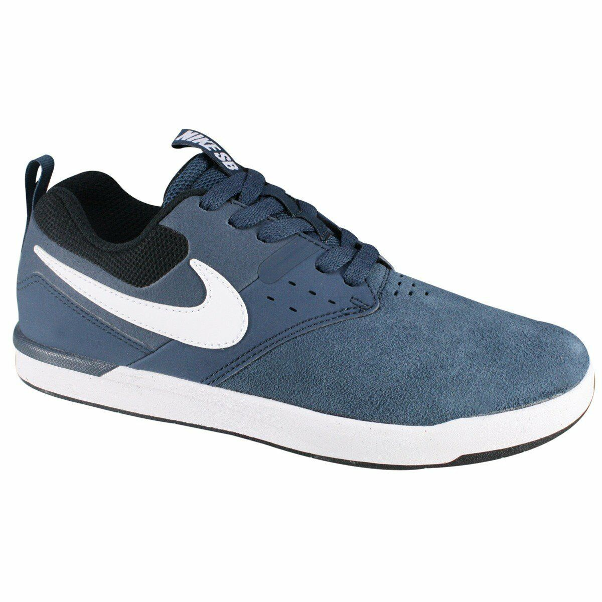 NIKE SB ZOOM EJECTA Suede Leather Trainers Casual Retro - bleu - Various Sizes