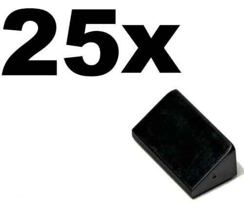 SLOPES Black x 25-1x2 slope 30 1 x 2 x 2//3 NEW LEGO 1 x 2 -