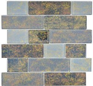 Mosaico-in-vetro-nero-Specchio-Piastrelle-Cucina-Rivestimento-Muro-Bagno-68-2569l-10-Tappetini