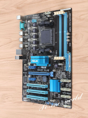 ASUS M5A97 PLUS motherboard Socket AM3 AMD 970 DDR3 ATX 100/% working