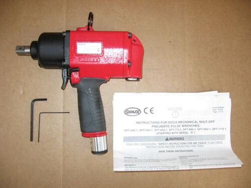 SPT1110-2 eairtool_1 Pneumatic Air 1/2 Pulse Impact Wrench Sioux SPT1110-2