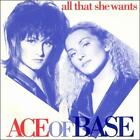 All That She Wants [US CD Single] [Maxi Single] by Ace of Base (CD, Sep-1993, Arista)