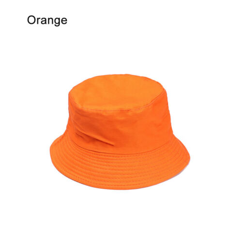 Casual Outdoor Sunscreen Cotton  Candy Color Bucket Hat Sun Caps Fisherman Cap
