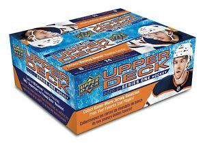 2020-2021-Upper-Deck-Hockey-Series-1-Factory-Sealed-Retail-Box-of-24-Packs-20-21