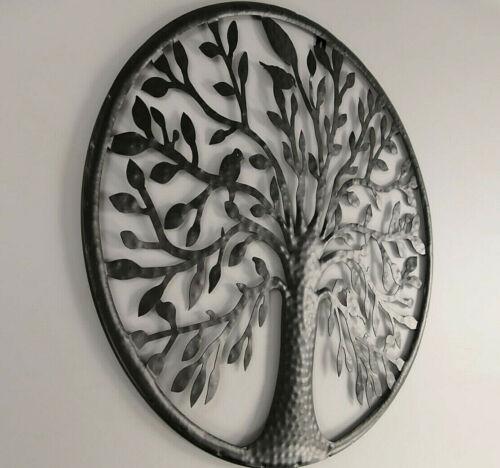 """Wanddeko /""""Baum des Lebens/"""" Lebensbaum 55cm Durchmesser Eisen sehr stabil"""