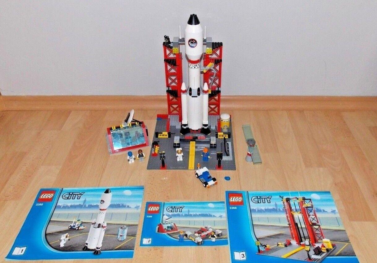 LEGO  3368 Raketenstation   vollständig  Anleitung  TOP