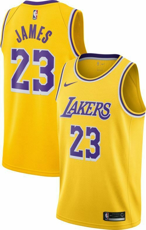 Maglia  Canotta Nike Los Angeles Lakers Lebron James TUTTE LE TAGLIE  artículos novedosos