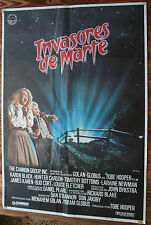 Used - Cartel de Cine INVASORES DE MARTE  Vintage Movie Film Poster - Usado