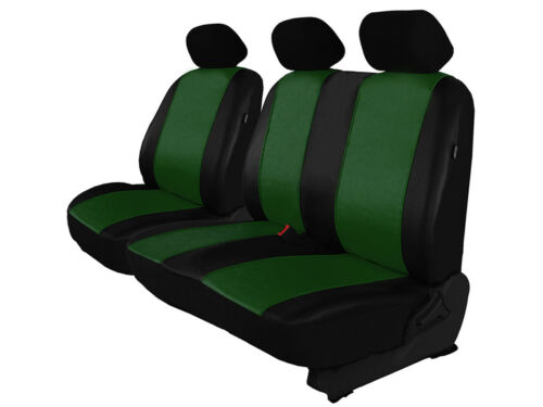 Tailored Eco-Leather Seat Covers 2+1 for FORD TRANSIT 2006-2013