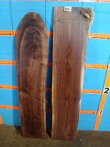 # 8141 2, Black Walnut Live Edge Slabs lumber craft wood