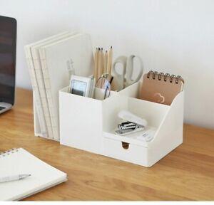 Office Desk Organizer Desktop Pen Pencil Storage Box Holder Container FAST L4X1