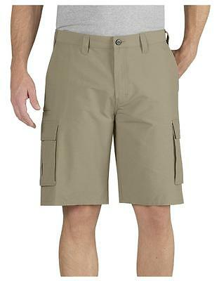 "NEW MENS DICKIES 5 POCKET CARGO SHORT RELAXED FIT KHAKI 11"" INSEAM 44 42 SHORTS"