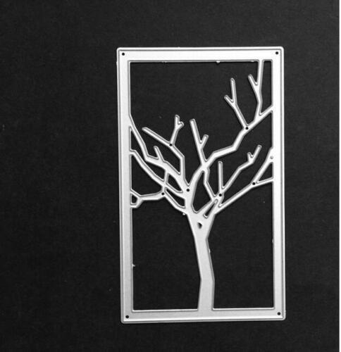 Branch Tree metal cutting Dies Scrapbooking Craft Embossing Album Stencil DIY