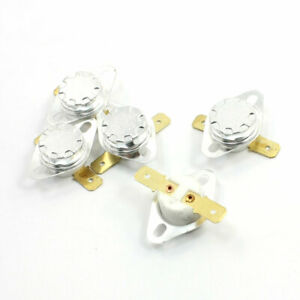 5Pcs-NC-Ceramic-Temperature-Switch-Thermostat-210-Degree-Celsius-KSD301