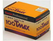 Kodak Professional 100 Tmax BW Negative Film NOS NIB 35mm 36 EXPIRED 2006 T-Max