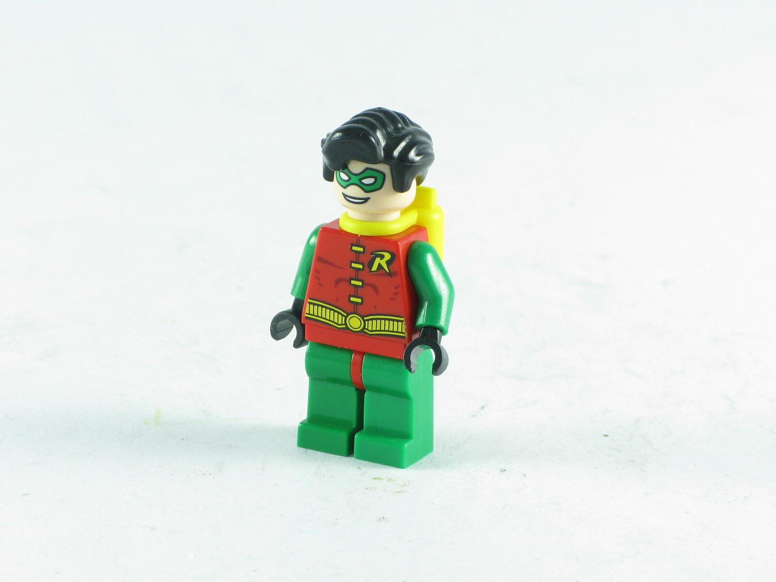 Lego Batman Robin Mint Minifigure Original No Cape, Not Super Heroes 7783