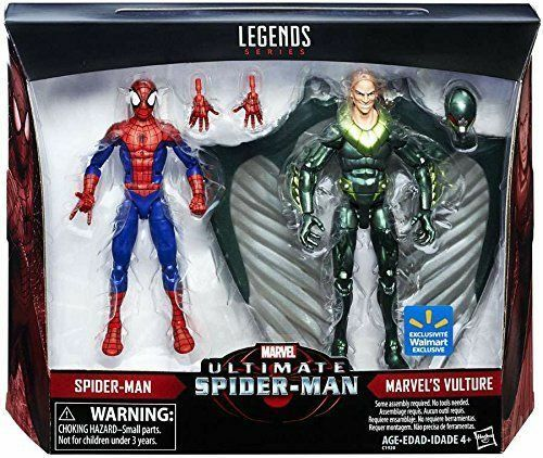 Leyendas De Marvel Ultimate Spider-Man & Marvel's Buitre producto exclusivo paquete de 2