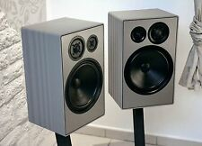 REVOX/stunder studio 4 se2, high end altoparlanti, design unici, grigio