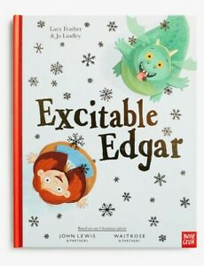 New-Excitable-Edgar-Dragon-Hardback-Book-John-Lewis-Christmas-2019-Advert
