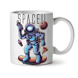 Space Pizza Food Fashion NEW White Tea Coffee Mug 11 oz   Wellcoda